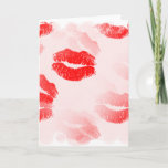 Kissable Lips Greeting Card
