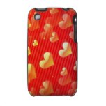Valentine Pattern iPhone 3G Case