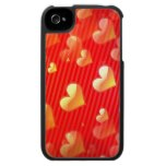 Valentine Pattern iPhone 4 Case